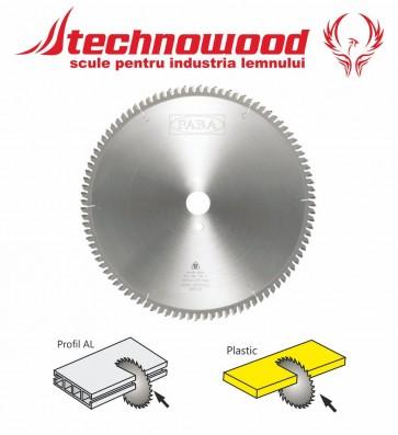 Panza circulara taiat Plastic/Aluminiu