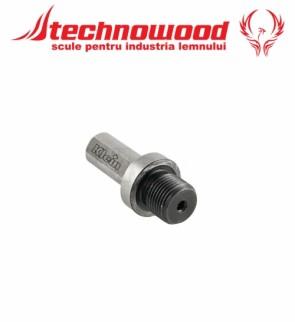 Adaptor de la 10 mm la filet M12