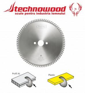 Panza circulara taiat Plastic/AL masini AUTOMATE