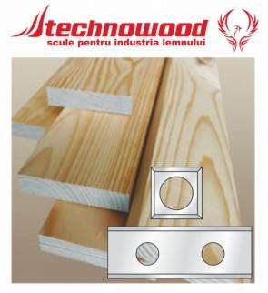 Placute amovibile pentru lemn moale K-HC10