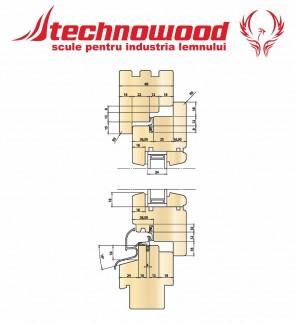 Set termopan CLASSIC EUROFALT 68 Z=4 CMS