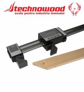 Subler digital pentru lemn tesit la 45 grade