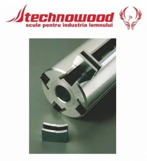 Dispozitiv magnetic pentru reglat cutite de rindeluit