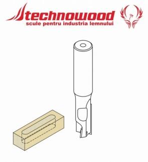 Freza CNC cilindro frontala Z=1+1