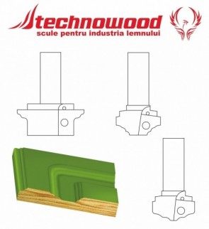 Freza CNC pentru Usi Model 4
