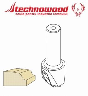 Freza CNC profilata Model 1