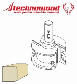 Freza CNC profilata Model 2
