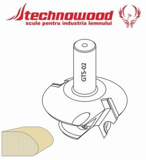 Freza CNC profilata Model 3