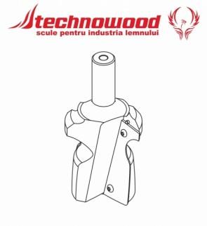 Freza CNC profilata Model 4