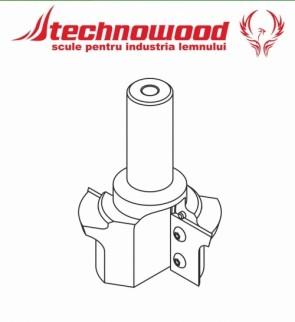 Freza CNC profilata Model 6