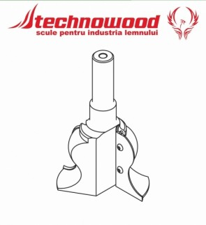 Freza CNC profilata Model 7