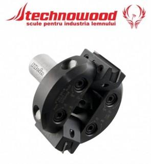 Freza CNC unghiulara reglabila