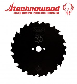 Panza circulara taiere longitudinala cu LIM pentru Esenta Moale lemn Verde/UdFABA