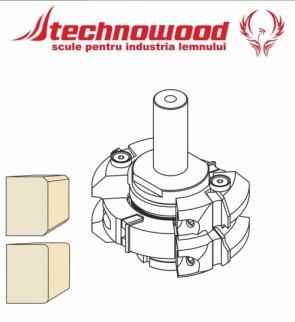Set freza CNC pentru Rotunjit